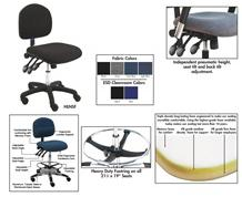 BENCHPRO™ ESD, CLEANROOM & INDUSTRIAL CHAIRS