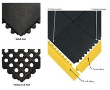 24/SEVEN® INTERCONNECTING RUBBER ANTI-FATIGUE MATS